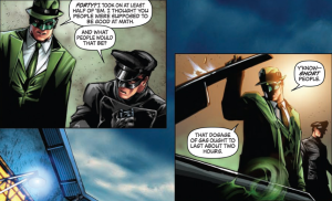 Green Hornet Vol 1 - Strange Joke considering it DOESN'T take place in the 30s