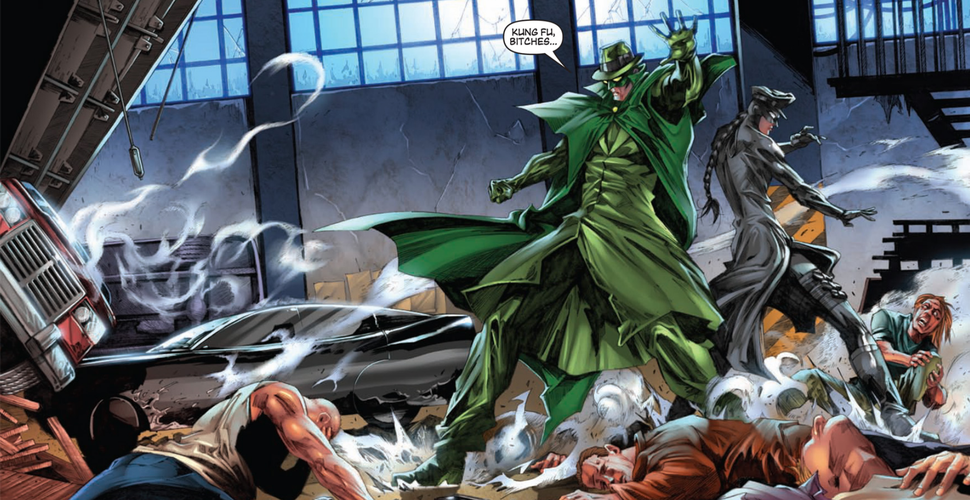 Green Hornet Vol 2 - Kung Fu