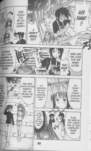 Love Hina #12 - Keitaro finds out about the power of the annex