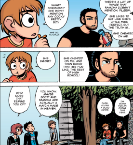 Scott Pilgrim vs The World - Lucas Lee