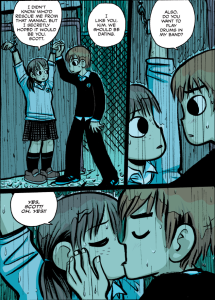 Scott Pilgrim vs The World - Scott saves Kim