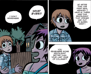 Scott Pilgrim vs The World - Scott's Traumatic Memory Loss