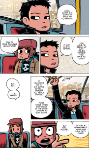 Scott Pilgrim vs The World - Ultimatum: Break up with Knives or Else