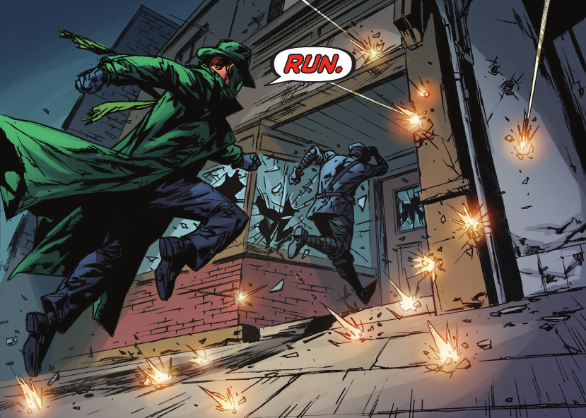 The Green Hornet #3 - Featured Image