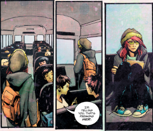 Wytches #1 - Sail gets on the bus