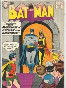 Batman marries Batwoman