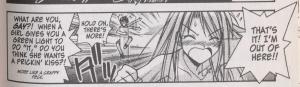 Love Hina 13 - Naru questions Keitaro's sexuality