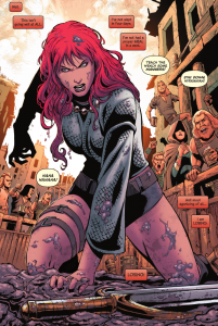 Red Sonja Vol 2 Issue #10 - Red Sonja Modest Outfit