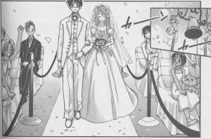 Love Hina 14 - wedding attire