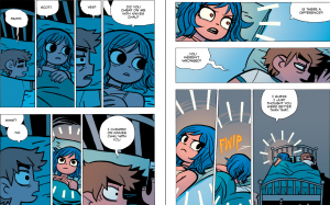 "Scott Pilgrim vs The Universe - ""Did you cheat on me with Knives Chau?"""