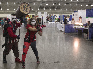 Harley Quinn and Henchman