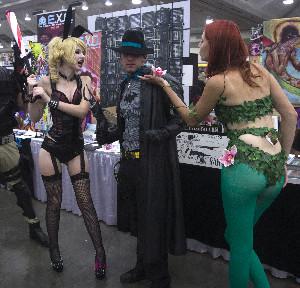 Noir Batman's in Double Trouble