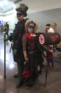 Victorian Harley and Riddler