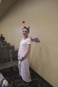 A Moogle at Baltimore Comioc-Con