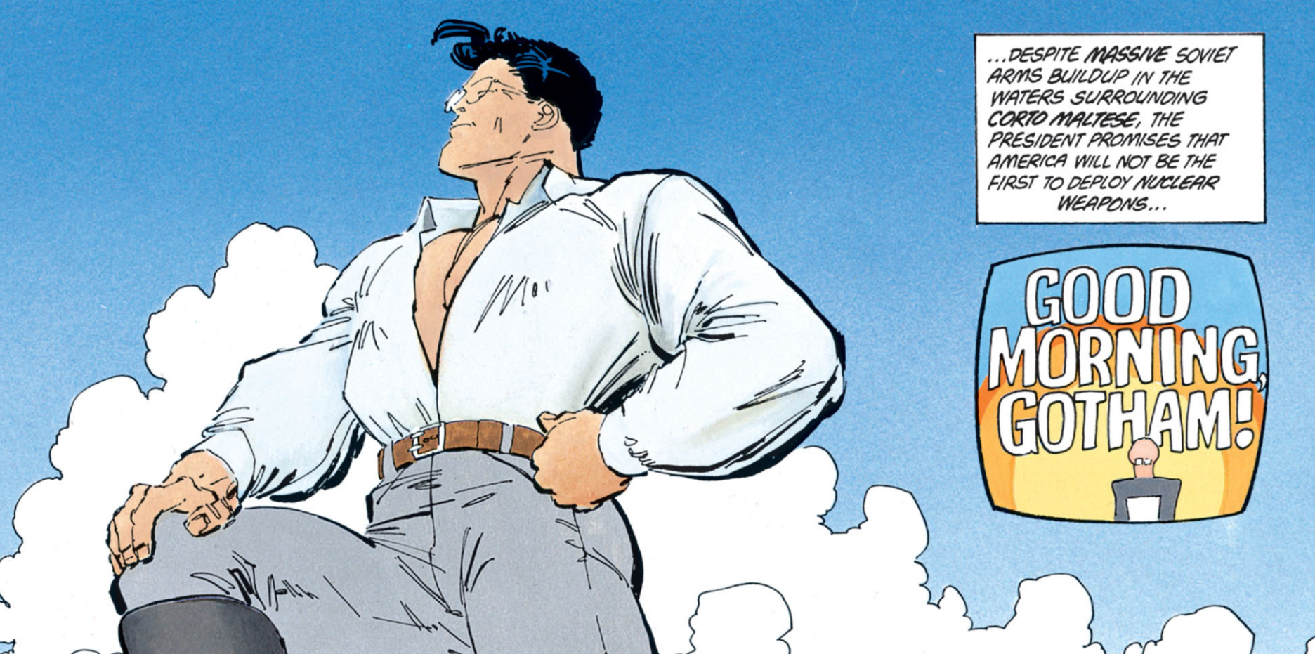 a masterpiece worth reading the dark knight returns comic pow batman the dark knight returns superman