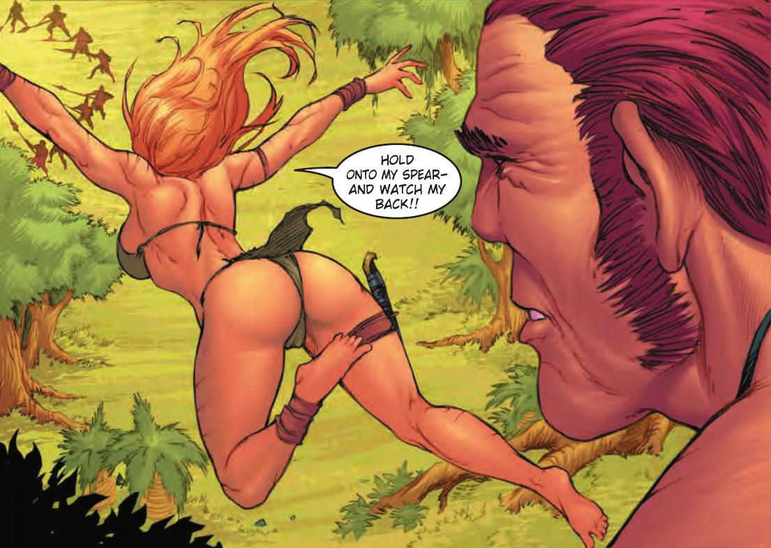 comic jungle girl porn