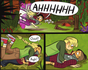 Lumberjanes Issue #10 - Mal and Molly
