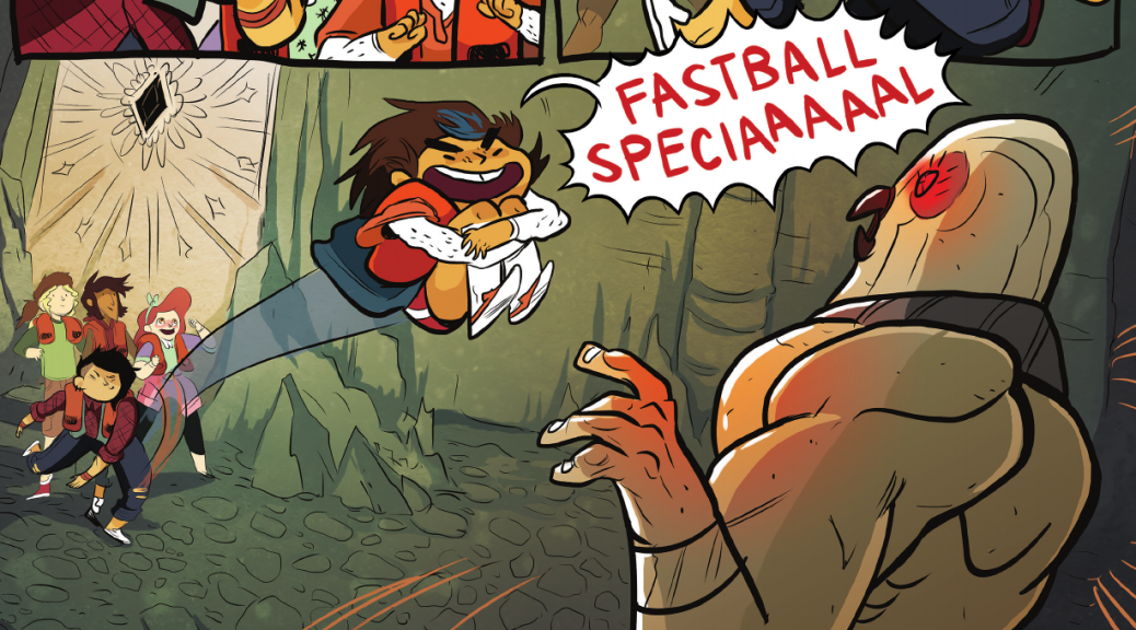 Lumberjanes Vol 1 - Fastball Special X-Men Reference