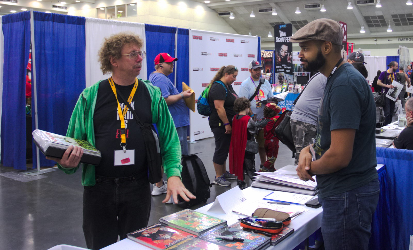 Rob Guillory artist on Chew