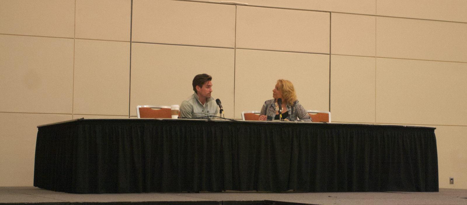 Michael Rowe Spotlight at Baltimore Comic-Con 2016