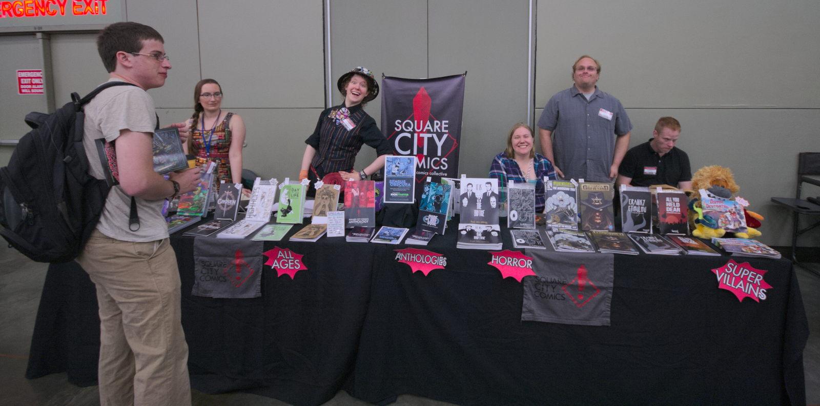Square City Comics at Baltimore Comic-Con 2016