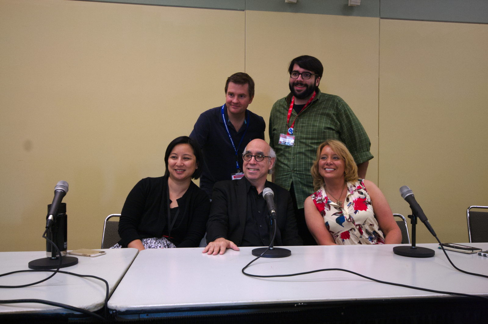 Music and Comic Books Panel at Baltimore Comic-Con 2016