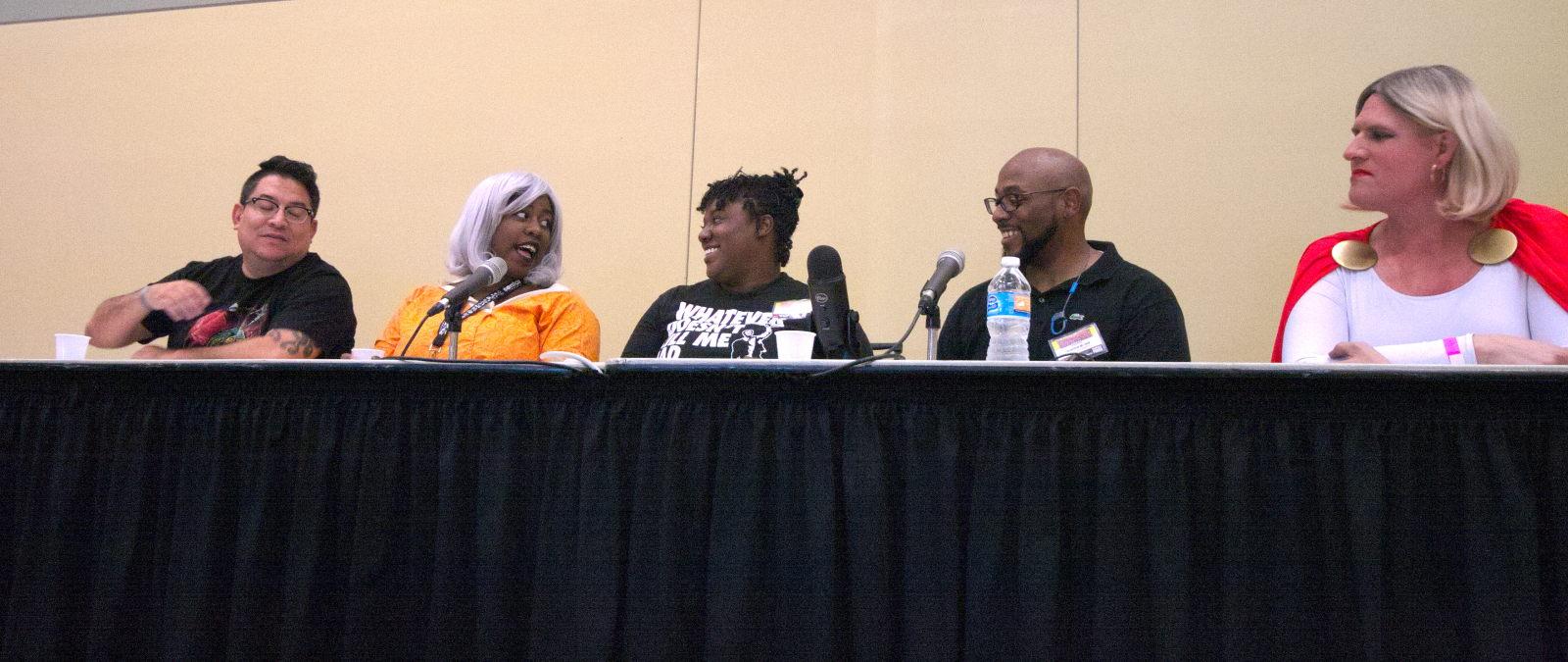 Diversity in Comics Panel