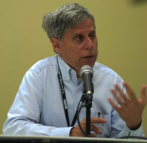 Paul Levitz on Pulp Roots of Comics panel