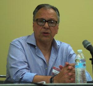 Howard Chaykin at Pulp Roots of Comics Panel