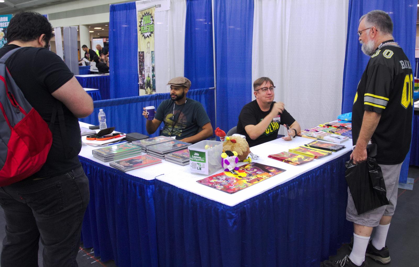 John Layman and Rob Guillory at Baltimore Comic-Con