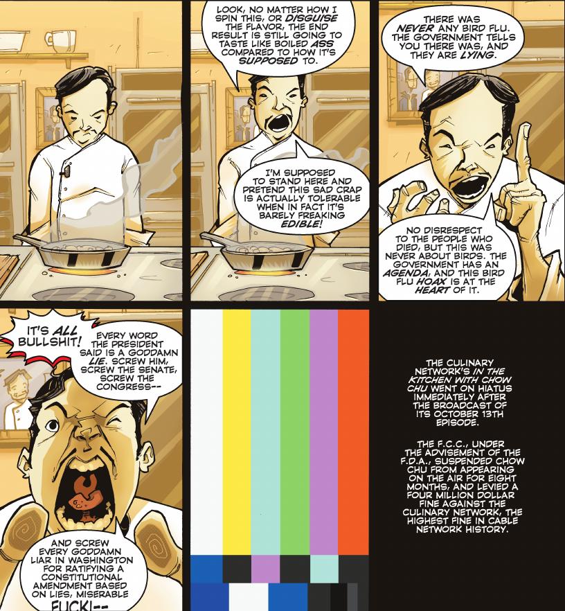 Chew Vol 1 - Chow's Rant