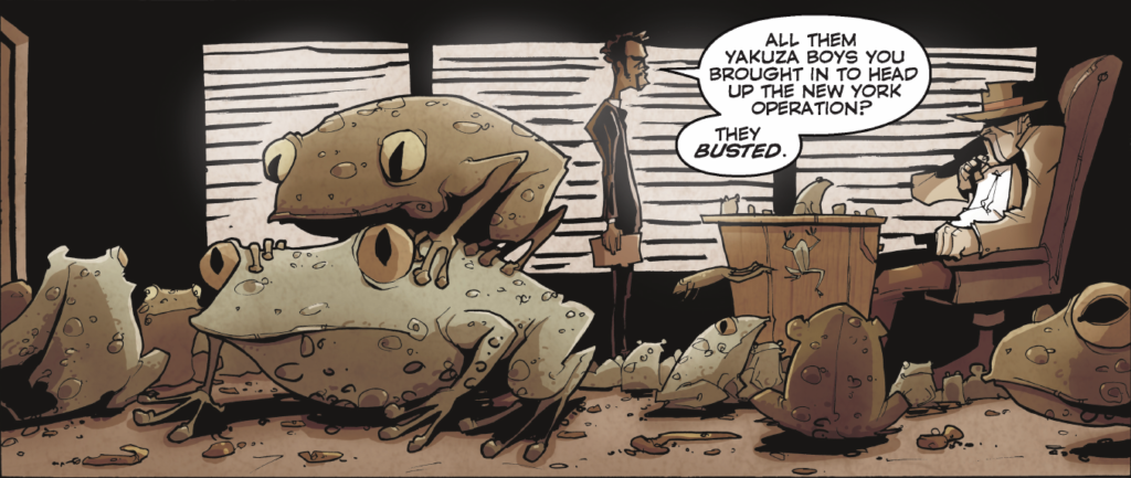 Chew Vol 1 - Montero, Caesar, and mating and frogs - deep foreshadowing