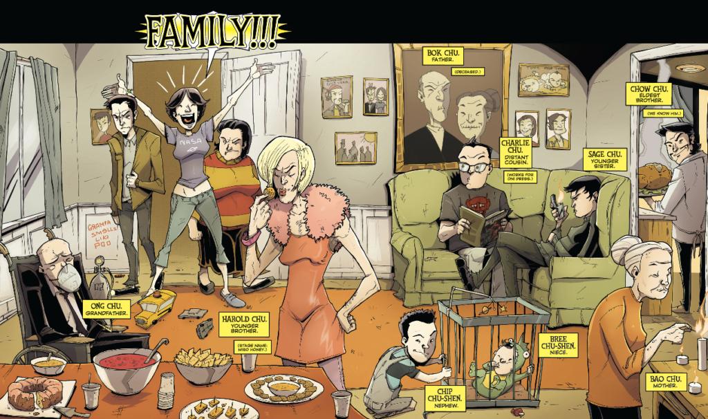 Chew Vol 3 - FAMILY