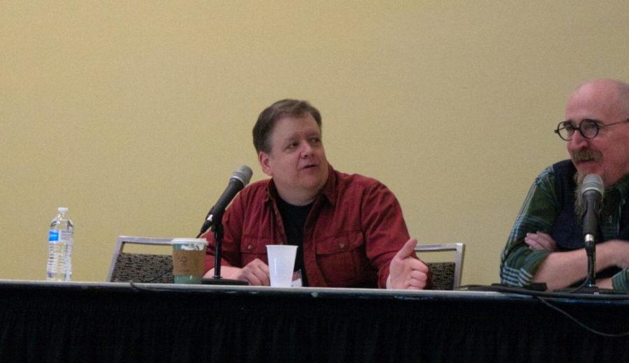 Brian Azzarello Spotlight Panel