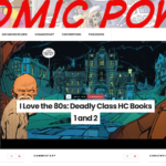 Changing Up the Site Theme here at Comic POW!